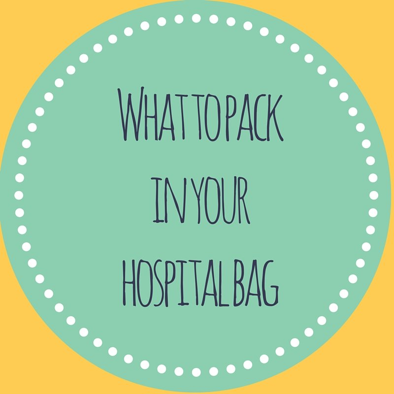 What to pack in your hospital bag badge