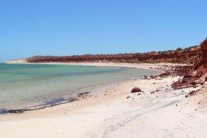 A beach in Western Australia