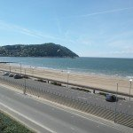 View of Minehead beach from Butlins