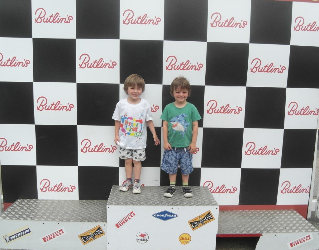 Two boys at Butlins