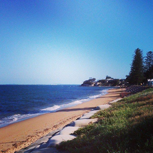 Margate Beach in Brisbane
