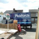 Pickfords moving van