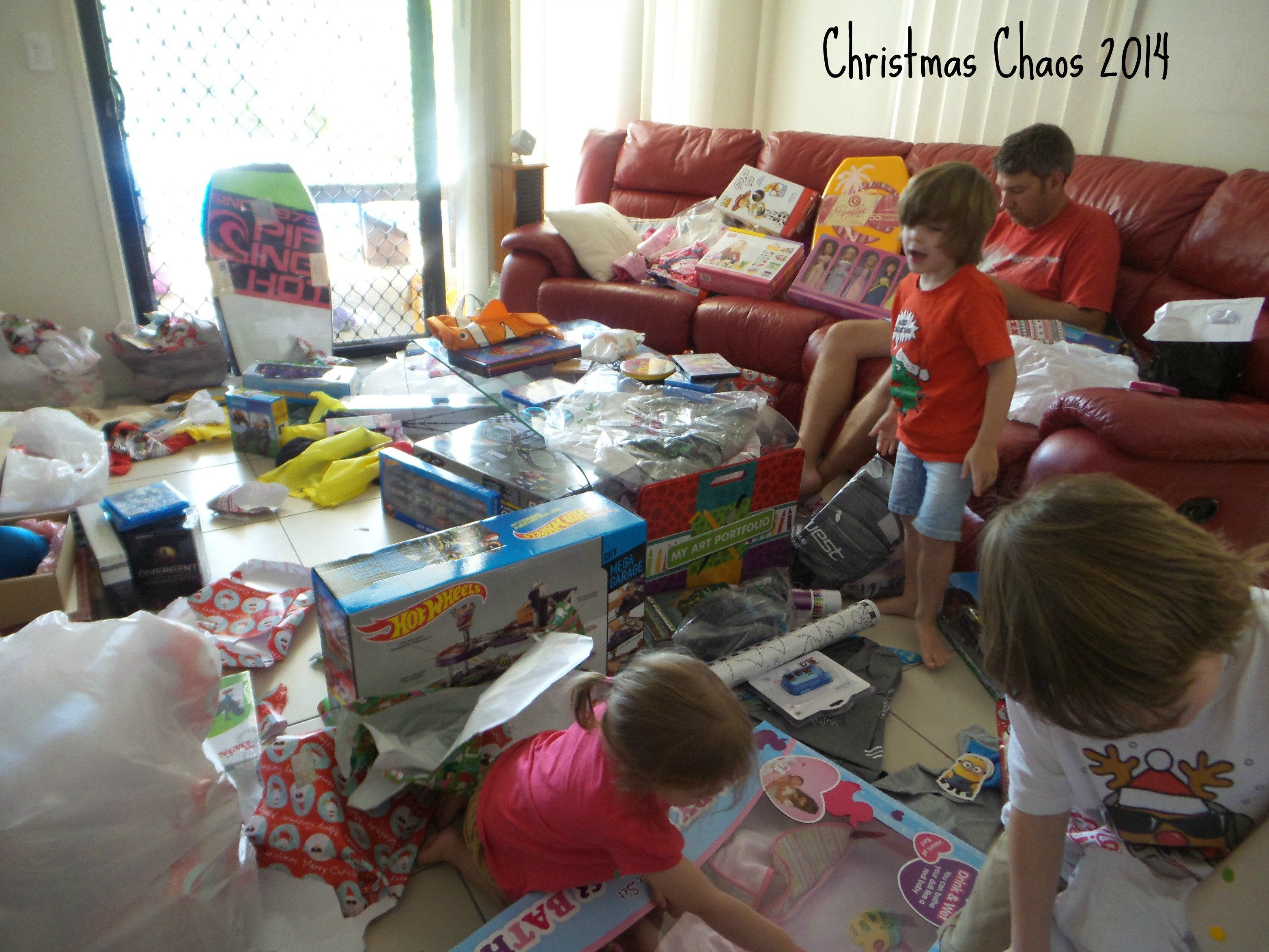 Our Christmas Day in Australia