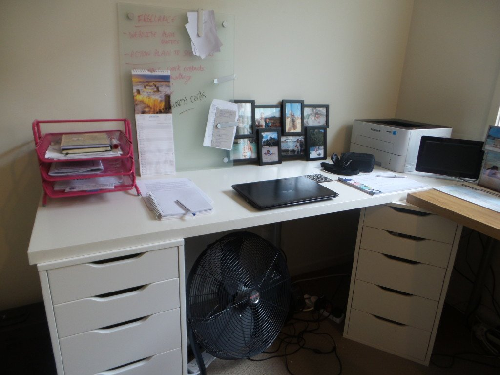 View of a desk