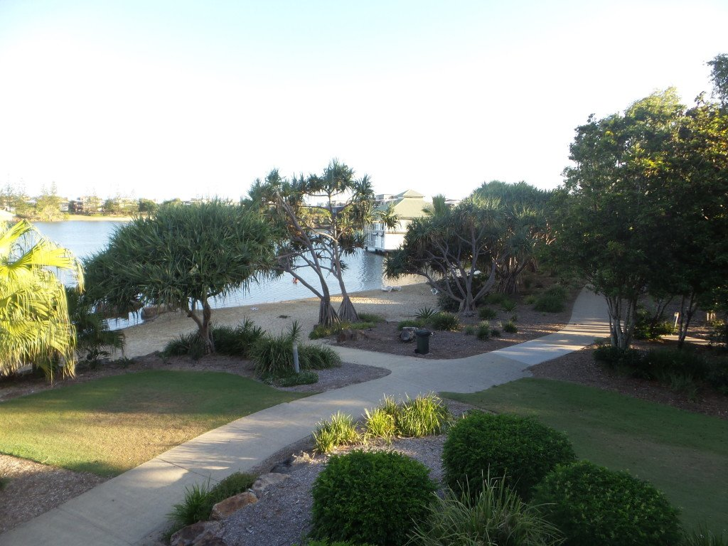 Balcony view at Novotel Twin Waters