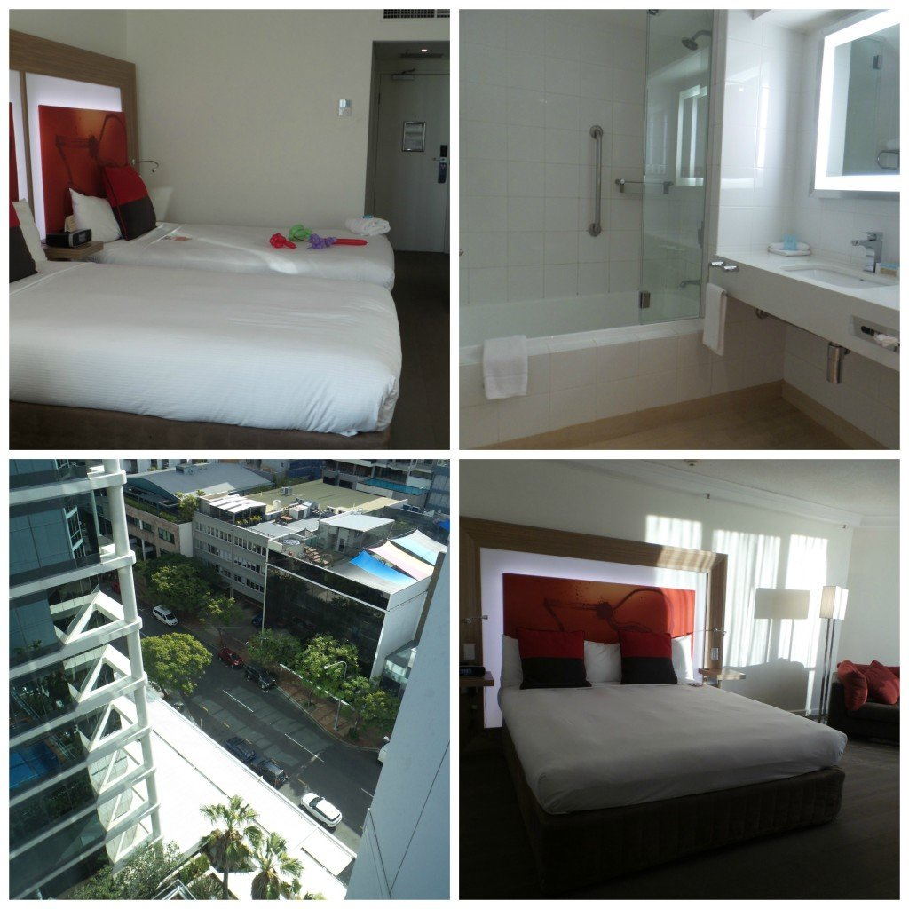 Brisbane Novotel interconnecting rooms
