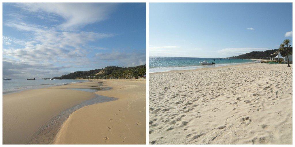 Tangalooma Island Resort's beaches