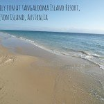 Family fun at Tangalooma Island Resort on Moreton Island, Australia