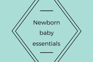 Newborn baby essentials bagde