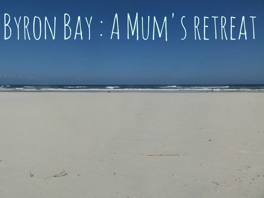 A beach at Byron Bay - A Mum's Retreat to Byron Bay