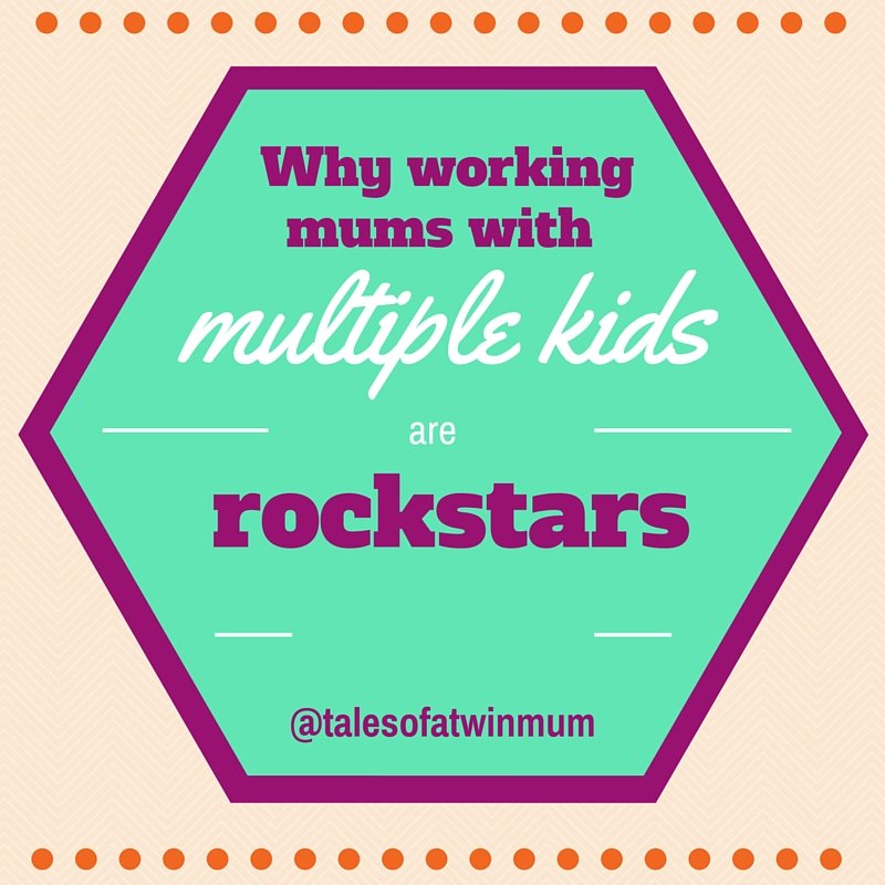 Why working mums with multiple kids are rockstars - badge