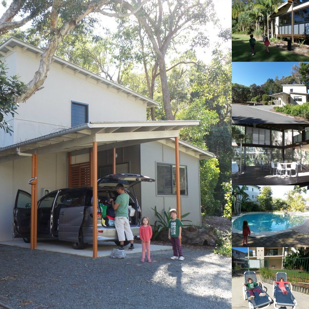 A house at Rainbow Beach Resort at Rainbow Beach