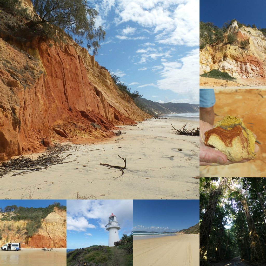 Rainbow Beach collage
