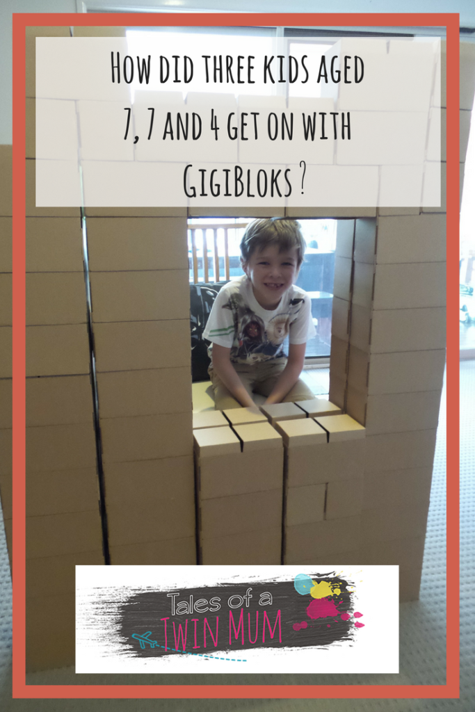 Pinterest image for Tales of a Twin Mum review of Gigi Bloks